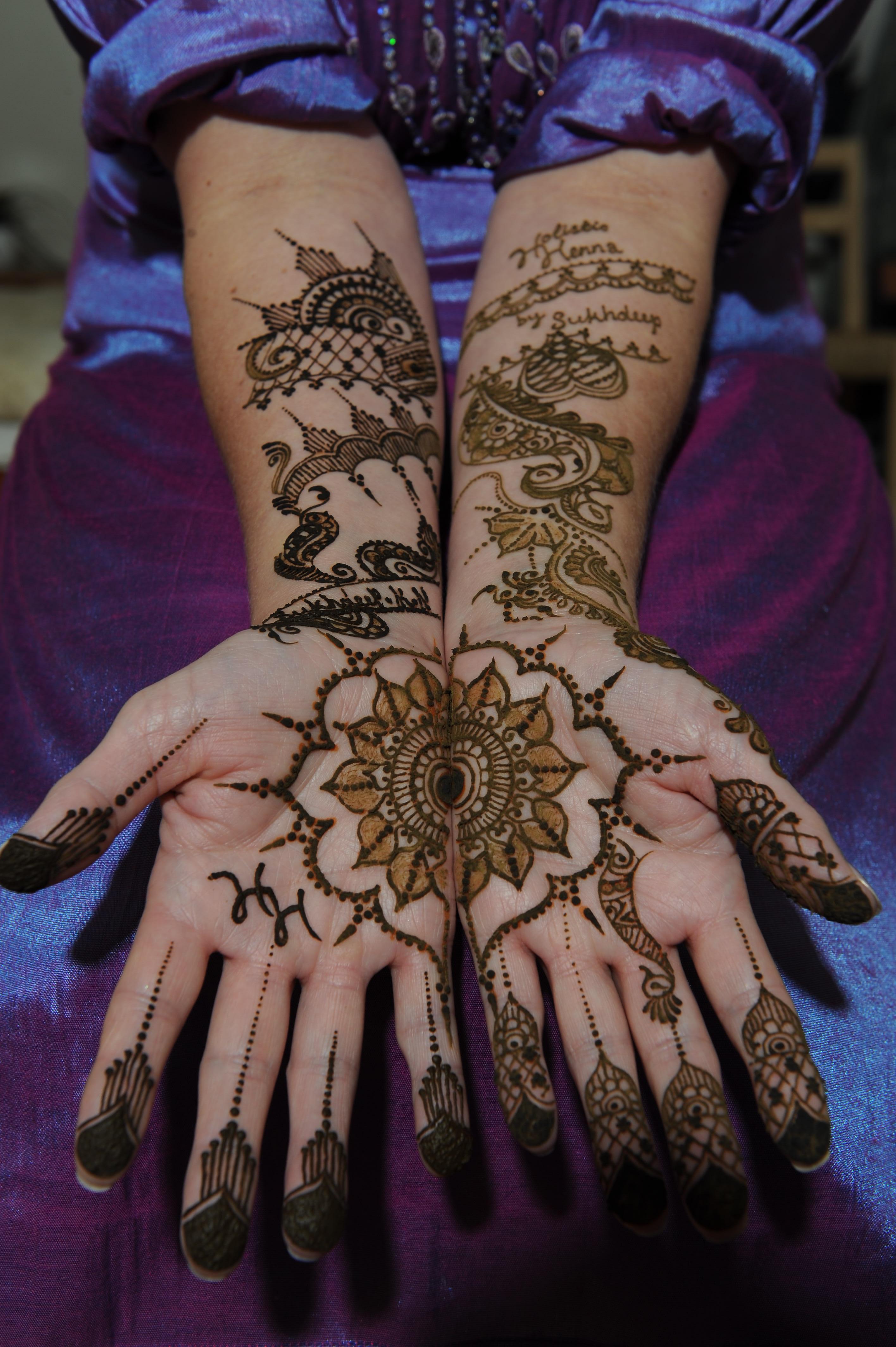 Mehndi Patterns Explained : Bridal mehndi � henna bristol